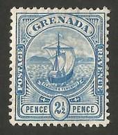 Grenada.  1906 Coat Of Arms. 2 1/2. SG 80. MH - Grenada (...-1974)