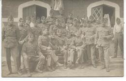 """Carte Photo """"groupe De Militaire"""" - Belgique"""