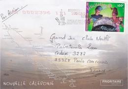 COVER LETTRE. NOUVELLE CALEDONIE.    POUR LA FRANCE / 4 - Nuova Caledonia