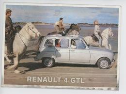 Renault 4 GTL (coll Centenaire, N°101 Série 2) Course Chevaux (cp Vieillotte Vierge) - Passenger Cars
