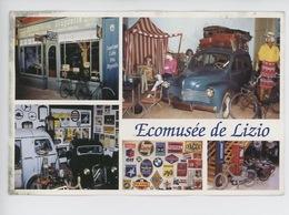 Ecomusée Vieux Métiers Lizio : Garage Années 50, Boutiques, Départ En Vacances (vintage) - Passenger Cars