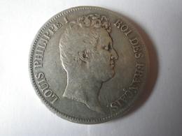 5 Francs Louis Philippe 1831 I (tranche En Creux) - J. 5 Francs