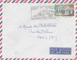 COVER LETTRE. AFARS ET ISSAS.    POUR LA FRANCE / 4 - Afar- Und Issa-Territorium (1967-1977)