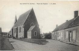 SAINTE CEROTTE Place De L' Eglise - Autres Communes