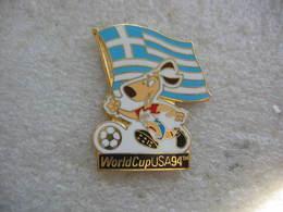 Pin's De La Coupe Du Monde De Football Aux USA En 1994, Drapeau De La Grece - Football