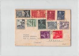 1373 HELVETIA ZUG TO VERONA - Svizzera