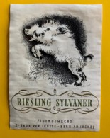 10447 - Riesling X Sylvaner Suisse Sanglier - Etiquettes