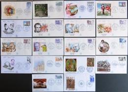 FRANCE Année 1985 Lot De 43 Enveloppes 1er Premier Jour FDC ETB (CV 120 €) Port Réduit 1 - France