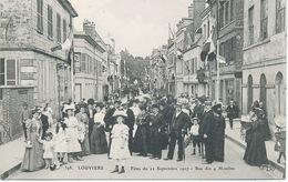 27 - Louviers : Fetes Du 22 Septembre1907.Rue Des 4 Moulins . - Louviers