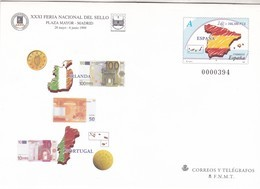 España Sobre Entero Postal Nº 54 - Stamped Stationery