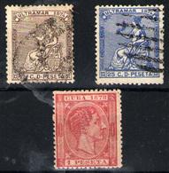 Cuba Nº 27/28 Y 49. Años 1874-1878 - Cuba (1874-1898)