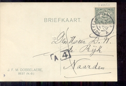 Best - J F M Dobbelaere - 1915 - Lettres & Documents