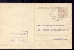 Sas Van Gent - N V Zelandia - 1920 - Entiers Postaux