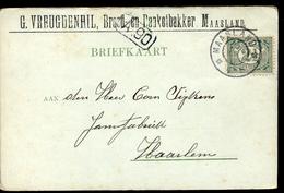 Maasland - G Veugdenhil - Brood Banket Bakker - 1903 - 1891-1948 (Wilhelmine)