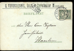 Maasland - G Veugdenhil - Brood Banket Bakker - 1903 - Brieven En Documenten