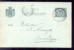 Stempel - 1900 - Pays-Bas