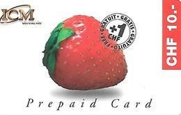 Prepaid: ICM Global Net - Erdbeere - Schweiz