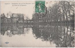 NANCY (54) INONDATIONS Des 9 Et 10 NOVEMBRE 1910. LA PISTE De La PEPINIERE. EDITEUR ROYER. 1910. - Nancy