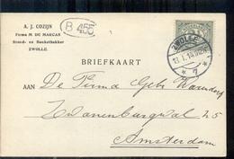 Zwolle - A J Cozijn - Firma M De Marcas Banketbakker - 1914 - Lettres & Documents
