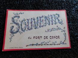 Souvenir Du Fort De Condé, 1906   (T7) - France