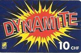 Prepaid: IDT Dynamite 11.08 - Schweiz