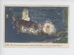 N°15 Dans Le Carrosse De La Bonne Fée, Cendrillon Se Rend Au Bal Royal - éd Superluxe Walt Disney Mickey Mouse - Disney