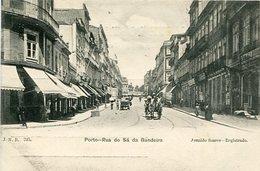 PORTO - RUA DO SA DA BANDEIRA. PORTUGAL POSTAL CPA CIRCA 1900's NON CIRCULÉ -LILHU - Porto