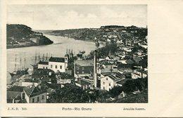 PORTO - RIO DOURO. PORTUGAL POSTAL CPA CIRCA 1900's NON CIRCULÉ -LILHU - Porto