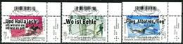 BRD - Mi 3460 / 3462 ECKEN REO - Zentrisch OO Gestempelt (B) - Sporthilfe 19, Ausgabe 02.05.2019 - [7] République Fédérale