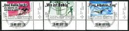 BRD - Mi 3460 / 3462 ECKEN REU - Zentrisch OO Gestempelt (C) - Sporthilfe 19, Ausgabe 02.05.2019 - [7] République Fédérale