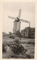 PHOTO (10.5x6.5 Cm) MOULIN À VENT SAINT JEAN DE MONTS (85) - Moulins à Vent