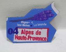 Magnet  GAULOIS FRANCE Département  Nouvelle Série 04  ALPES DE HAUTE PROVENCE      DIGNE   LES BAINS     LA LAVANDE - Magnets