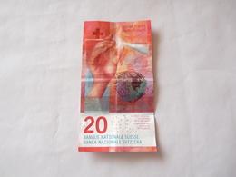 A Vendre Billet De 20 Francs Suisse Sous Son Cours De Change - Switzerland