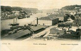 PORTO - ALFANDEGA. PORTUGAL POSTAL CPA CIRCA 1900's NON CIRCULÉ -LILHU - Porto