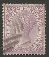 British Honduras. 1882-1887. Queen Victoria. 4p. SG 20. Cancelled - Honduras Britannico (...-1970)