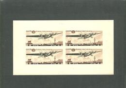 URSS. 1937. Bloc. Exposition Jubilaire De L'aviation Soviétique - 1923-1991 USSR