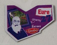 Magnet  GAULOIS FRANCE Département  Nouvelle Série 27 EURE /EVREUX / GIVERNY / CLAUDE MONET - Magnets