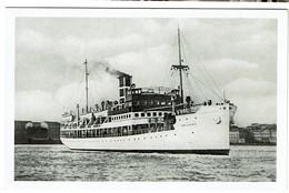 S/S Wellamo - Finland Steamship Co. Turku - Tukholma - 2 Scans - Paquebots