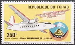 Chad   1985 ASCENA Airlines 25th.Anniv. - Chad (1960-...)