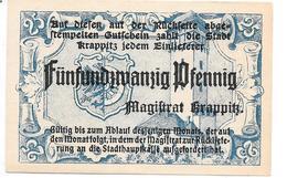 **notgeld Krappitz 25 Pfennig K49.2f - [11] Local Banknote Issues