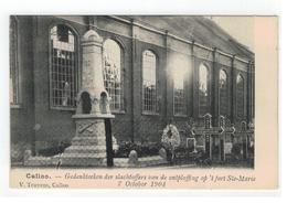 Kallo Calloo - Gedenkteeken Der Slachtoffers V D Ontploffing Op 't Fort Ste-Marie 7 October 1904 - Beveren-Waas