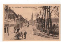 Doel-aan-Schelde  -  Dorpzicht Naar De Kerk - Beveren-Waas