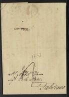 DA JESI A FABRIANO - 5.3.1827. - Italia