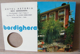 MONDOSORPRESA, BORDIGHERA, HOTEL ASTORIA, SEGNA CAMERA - Pubblicitari