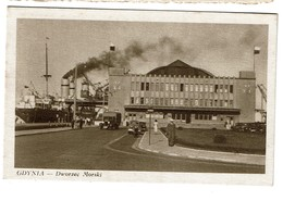 Poland  - Pologne - GDYNIA - Dworzec Morski - 2 Scans - Pologne