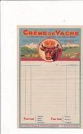 """74-Cie Centrale Fromagère """" Crème De Vache """"..La Roche Sur Poron..(Haute-Savoie) - Alimentaire"""
