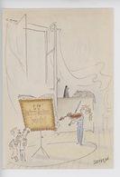 LU 150 Ans Par Sempé Illustrateur : LU Petit Beurre Nantes (violon Musique Chat Métronome Biscuits) Cp Vierge - Sempé