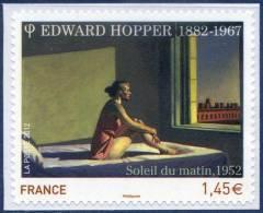 "0661A  Adhésif  ""Soleil Du Matin"" Edward Hooper  Neuf  **  PRO 2012 + - Adhesive Stamps"