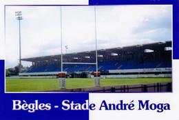 CARTE DE STADE DE. Bègles  *33* France Stade  André Moga  # DGC.25 - Voetbal