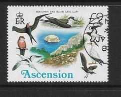 ASCENSION  1976 Birds  Bird Protection Island Boatswain   USED - Ascension (Ile De L')